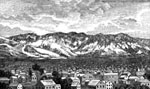 Mormons in Utah: Salt Lake City, 1857