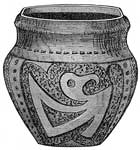Moundbuilders: Vase from Ohio Mound