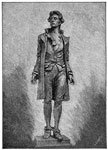 Nathan Hale: Hale Statue in City Hall Park in New York