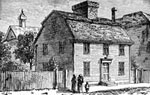 Nathaniel Hawthorne: Birthplace of Nathaniel Hawthorne - Salem, Massachusetts