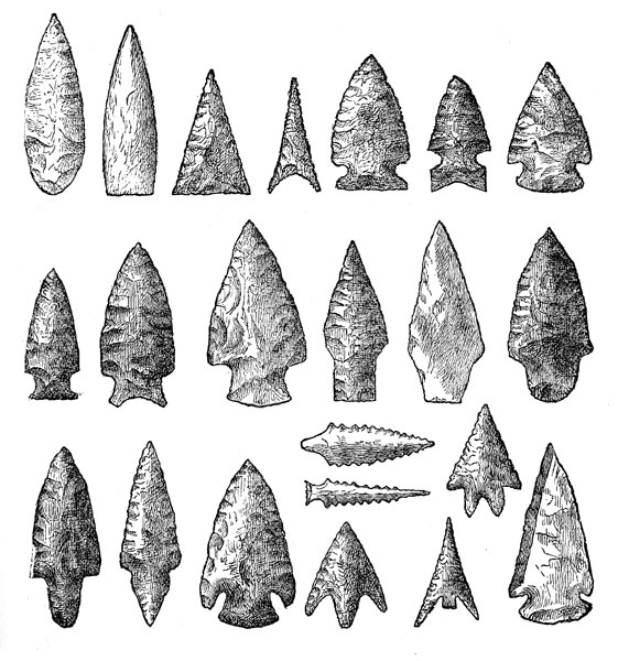 Native American Weapons: Arrowheads in the National Museum