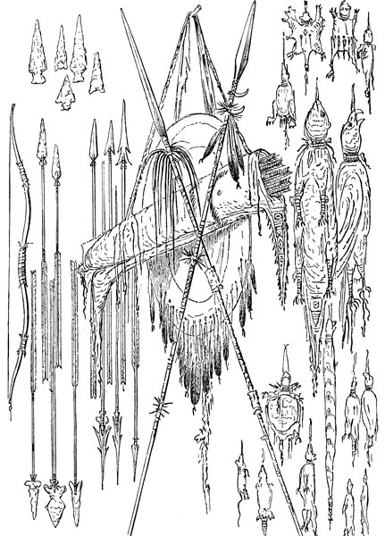 Cherokee Weapons Pictures
