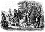 New Jersey Colony: Trading with the Indians