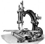 Old Sewing Machines: Wilcox and Gibbs Machine without Table