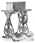 Old Sewing Machines: No. 4 Half-Case Machine, Closed