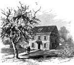 Pennsylvania Colony: Letitia Cottage, Philadelphia, Supposed First Residence of Penn