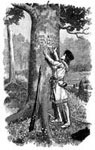 Pictures of Daniel Boone: Boone's Bear Tree