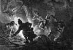 Pictures of Daniel Boone: Boone Rescues his Daughter