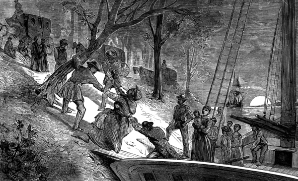 account of the slaves escape to canada for safety Martha washington and slavery 4 accounts vary regarding washington's treatment of the mount vernon's whose plan to escape with his fiancée was.