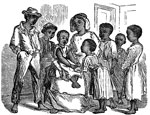 Pictures of the Underground Railroad: Ann Marie Jackson and her seven children escaped from Maryland