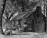 Plantation Pictures: Slave cabin on a plantation