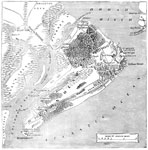 Port Royal: Map of Hilton Head Showing the Topography