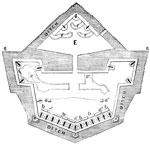 Port Royal: Plan of Fort Walker