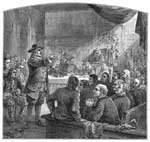 Portrait of William Penn: Trial of William Penn