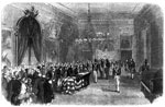 President James Monroe: James Monroe lying in State at the City Hall, NY