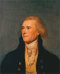 President Thomas Jefferson: Portrait by Charles Wilson Peale