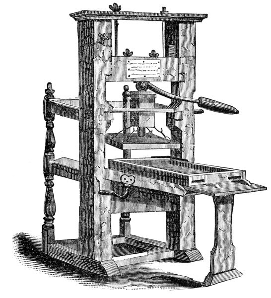 a history of the invention of the printing press The printing press and its history history the invention of the printing press occurred at a time in which the entrepreneurial spirit of europe was favoring improvements to production.