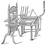 Printing Press Invention: Washington Press - One of the Earliest Used in the United States