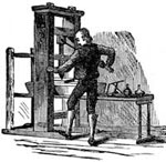 Printing Press Invention: Old Style Printing Press