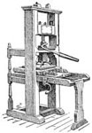 Printing Press Invention: A Franklin Press