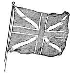 Revolutionary War Flags: British Union Jack