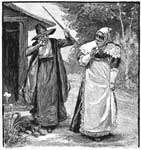Salem Witch Trials: Susanna Trimmings and Goodwife Walford
