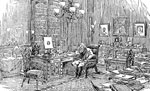 Samuel Morse: Morse in his Study