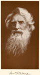 Samuel Morse: Samuel F. B. Morse, from a self-portrait Done with a Mirror