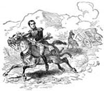 Santa Anna: Escape of Santa Anna at Cerro Gordo