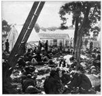 Savage's Station: Sick and Wounded Men at Savage's Station who Became Prisoners of the Confederacy, June 30, 1862