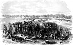 Shiloh Battle: Battle of Pittsburg Landing, Sunday, April 6, 1862 - Desperate Defense of McClernand's Line by the Federal Troops