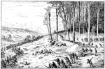Shiloh Battlefield: Checking the Confederate Advance on the Evening of the First Day