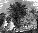 Sioux Indian Tribe: Sioux Village