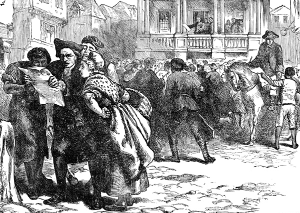 the stamp act protest and the onset of the american revolution Howard became the only prominent american to publicly support the stamp act in his pamphlet a and they began to lobby for a repeal of the stamp act the colonial protest had included various non-importation agreements among merchants who the unknown american revolution.