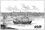 Steamboats: John Fitch's Steamboat in Philadelphia