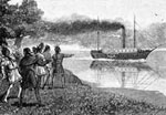 Steamboats: First Steamboat on the Mississippi
