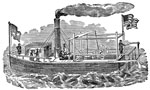 Steamboats: The First Steamboat Ever Built to Carry Passengers
