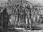 Tecumseh's War: Tecumseh Entering the Council