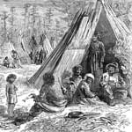 Teepees: The Indians at Home