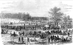 The Battle of Yorktown: The Federal Army under Gen. McClellan between Big Bethel and Yorktown, April 6, 1862