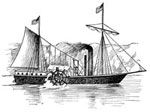 The Clermont: Fulton's Steamboat