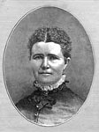 The Donner Party: Georgia A. Donner (Mrs. W. A. Babcock), 1870
