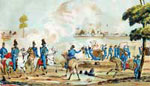 The Mexican War: Bombardment of Vera Cruz