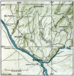 Trenton Battle: Map of the Battle of Trenton