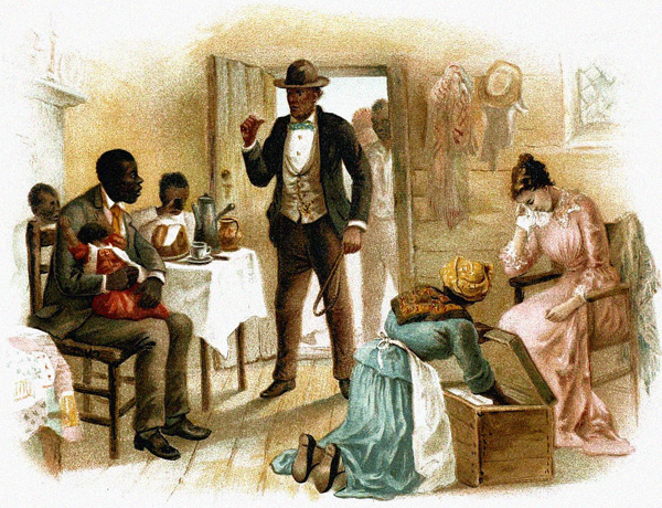the talents god gave uncle tom at the shelby plantation I read uncle tom's cabin by harriet beecher stowe a slave named tom gets sold to a man named mr shelby, but not long after he was put on a slave boat on the boat to the slave market, tom meets a kind little white girl named eva.