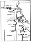 Underground Railroad Maps: Underground line of Morgan County, Ohio