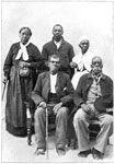 Underground Railroad Pictures: A group of refugee settlers of Windsor, Ontario