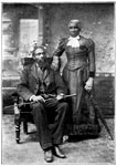 Underground Railroad Pictures: Samuel Harper and wife, of Windsor, Onatrio - Only two survivors of the company of slaves abducted by John Brown from Missouri in the winter of 1858-59