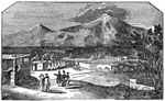 US Mexican War: Encampment Near Valentia