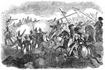 US Mexican War: Repulse of the Mexican Cavalry at Palo Alto